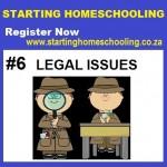 Webinar#6StartingHomeschooling-Legal Issues